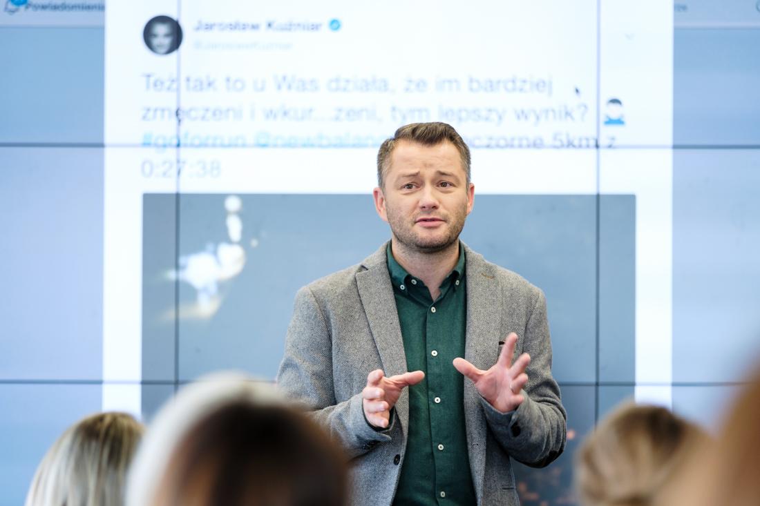 Kiedy biznes musi być online Jarosław Kuźniar media