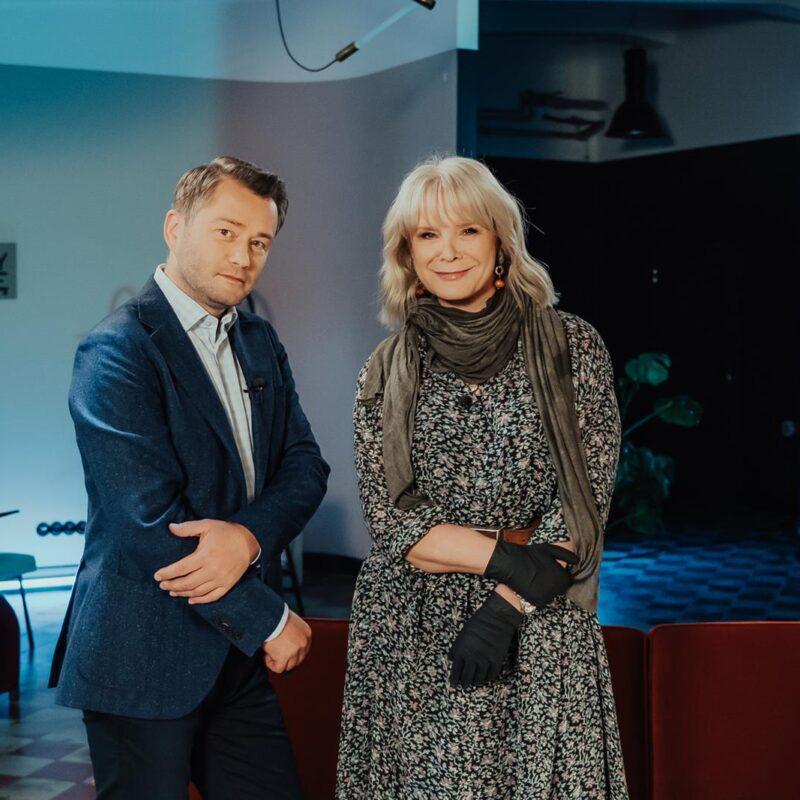 Małgorzata Domagalik: pociągają mnie historie Jarosław Kuźniar media