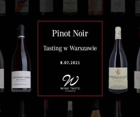 Tasting Pinot Noir na żywo w Warszawie Jarosław Kuźniar media